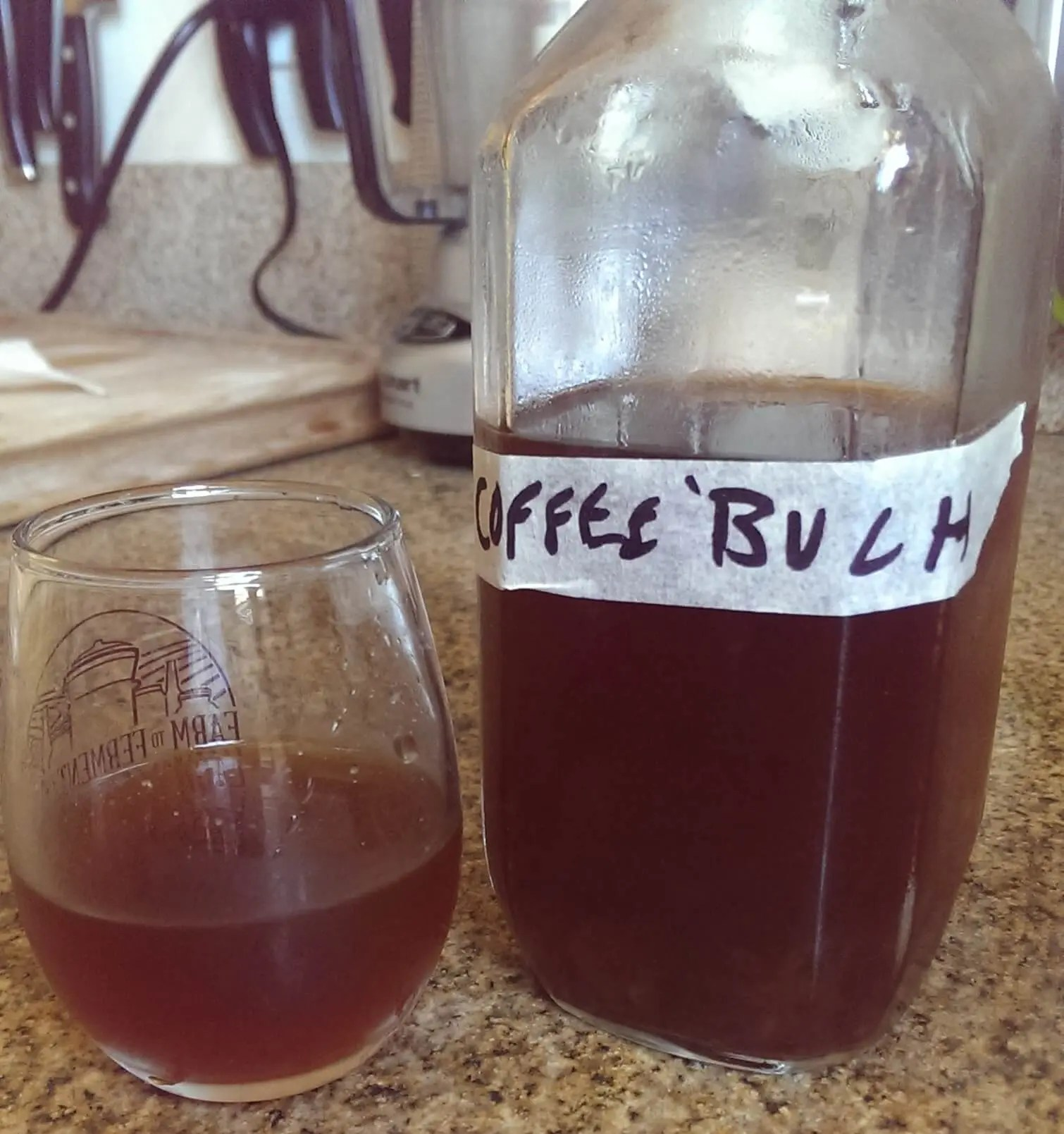 Can I Make Kombucha With Coffee