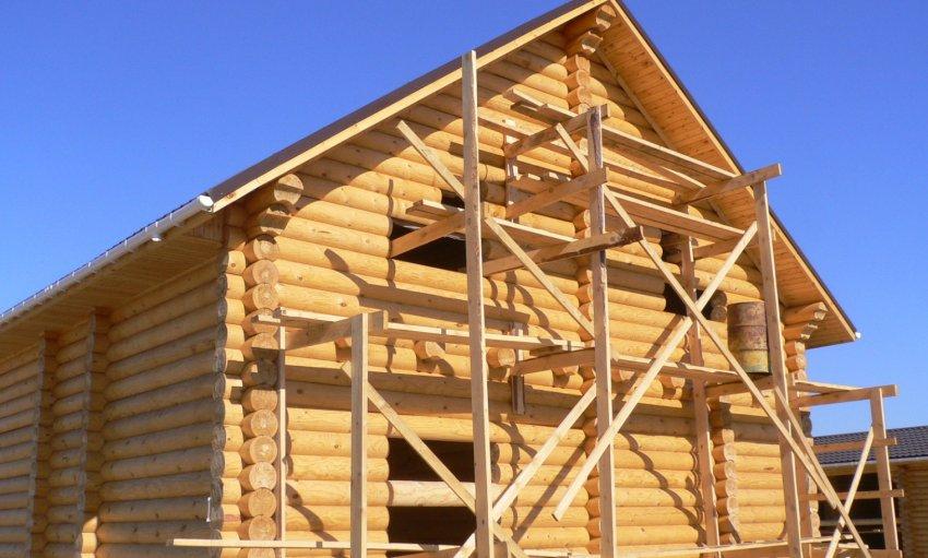 ใช้ Larch ในการก่อสร้าง