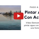 Pintar Agua Con Acuarela