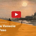 Acuarela Paso a Paso Venecia