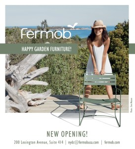 Fermob opens trade showroom in New York City.