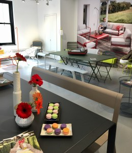 Fermob showroom at NYDC
