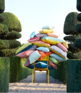 Fermob outdoor pillows and accessories