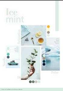 mint green color trend