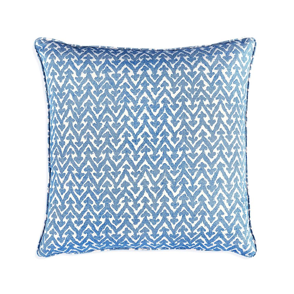cushion in blue rabanna