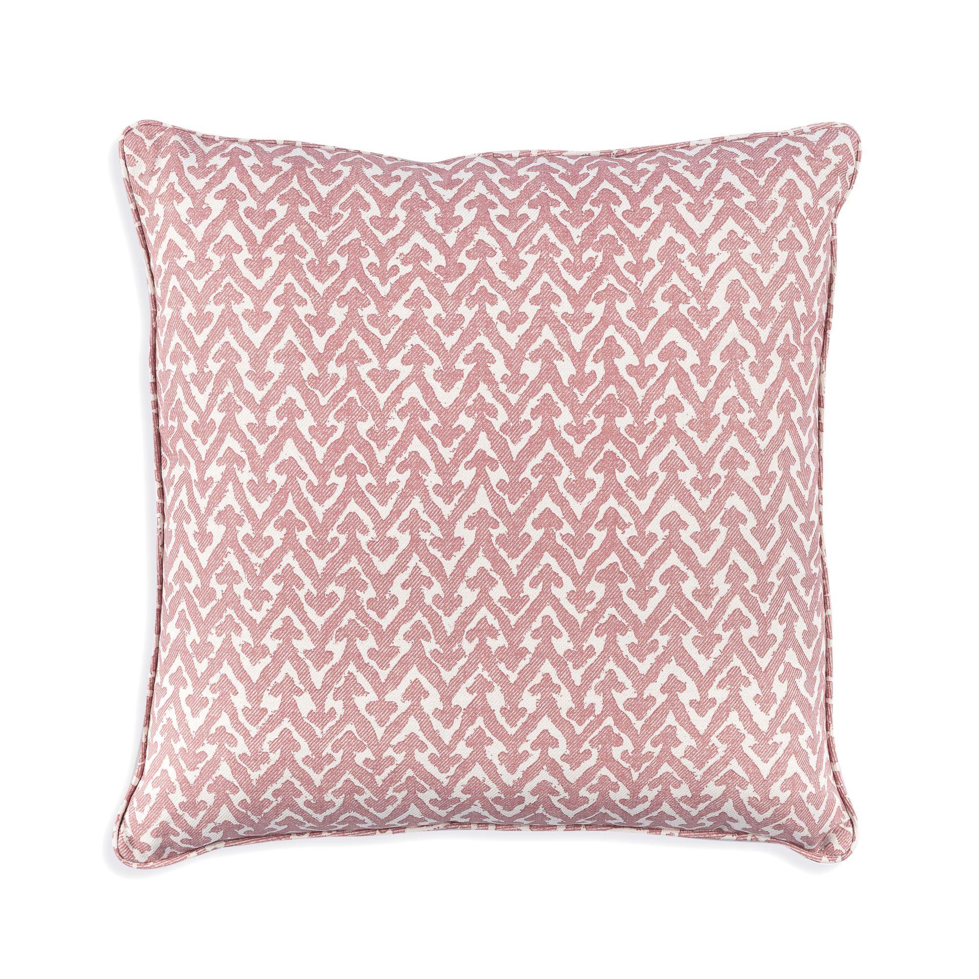 cushion in pink rabanna