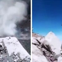 Jóvenes violan recomendaciones y suben al Popocatépetl en plena alerta