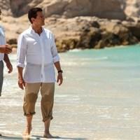Viralizan fotos de Peña Nieto disfrutando sus vacaciones... ¡sin camisa!