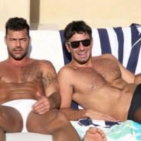 La foto del novio de Ricky Martin vestido de mujer que ha desatado fuertes críticas