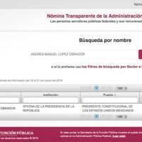Ya se puede consultar cuánto ganan los servidores públicos en México