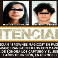 'Emprenden' con venta de 'brownies mágicos' en Sonora y los detienen