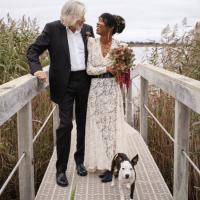 Roger Waters se casa por quinta vez