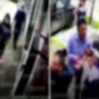 Filtran video de la detención de Héctor Parra afuera de su casa