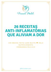 26 receitas anti-inflamatórias que aliviam a dor