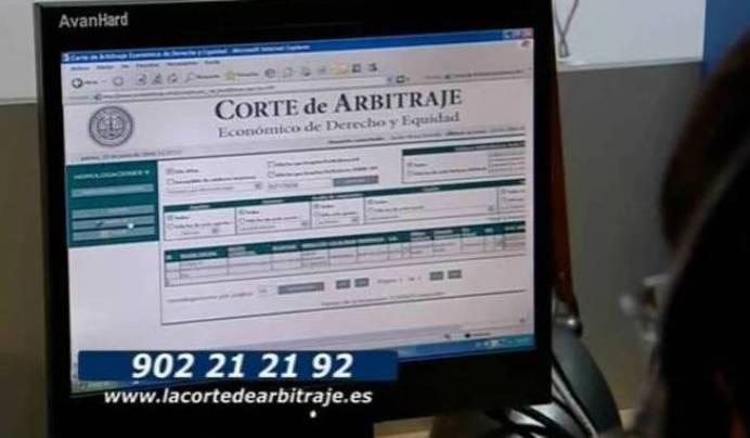 anuncio-en-television-de-la-corte-de-arbitraje