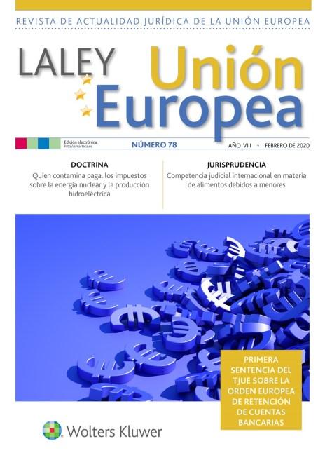La Ley UE nº 78 febrero 2020