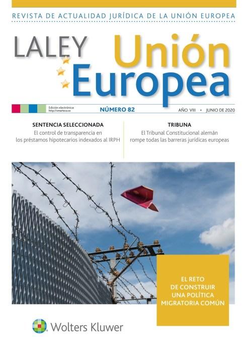 La Ley UE nº 82 junio 2020