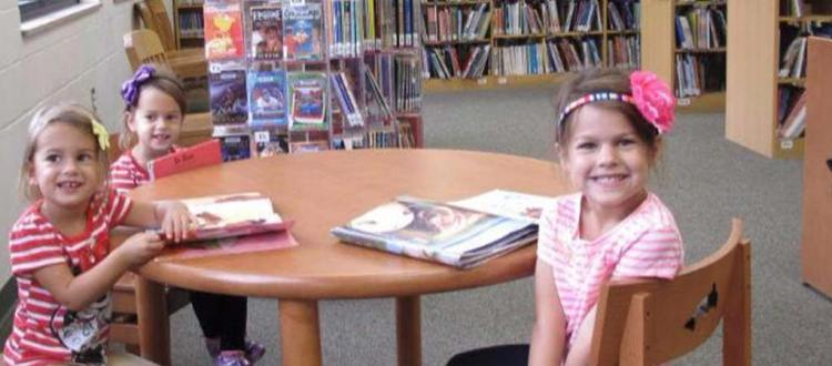 Kids love the Library