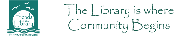 Fernandina Friends of the Library Logo