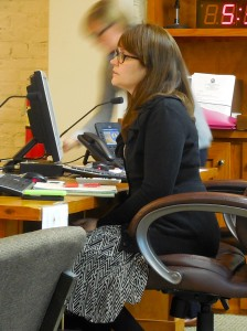 Community Development Director Adrienne Burke