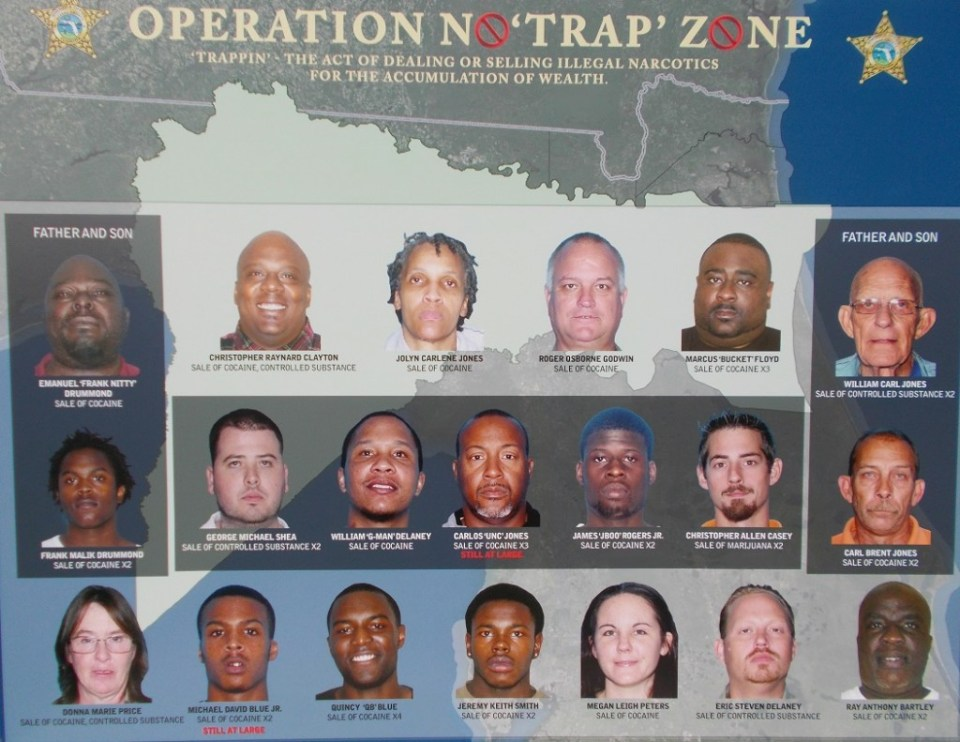 Nassau County Sheriff's Office conducts 'Operation No Trap