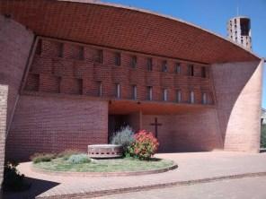Iglesia de Atlántida - Fachada