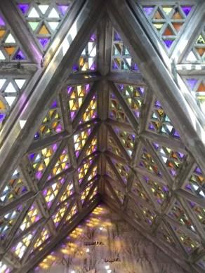 Interior de la capilla Soca