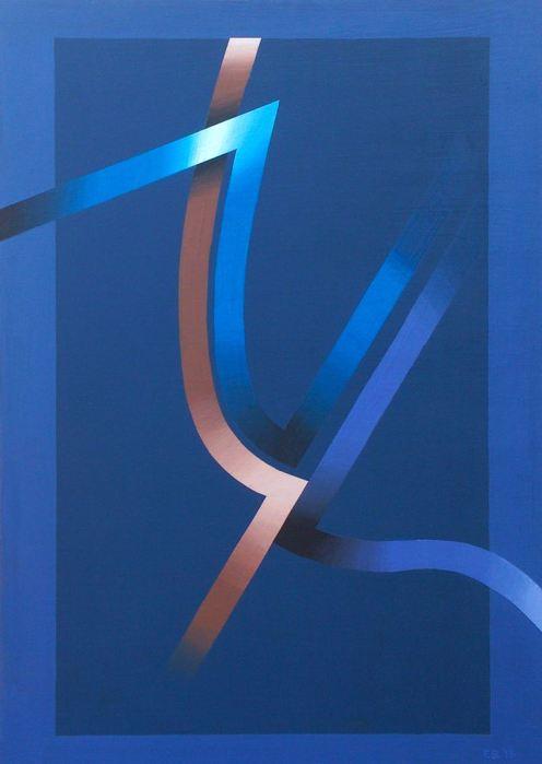 ALMADRABA 2015, acrilico, DM, 40 x 60 cms.