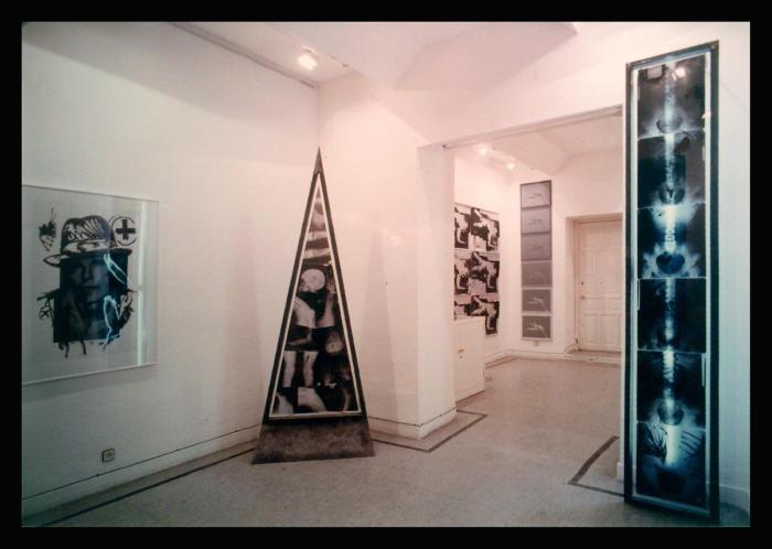 AUSENCIAS 1989-90 galeria Lienzo y Papel (2)