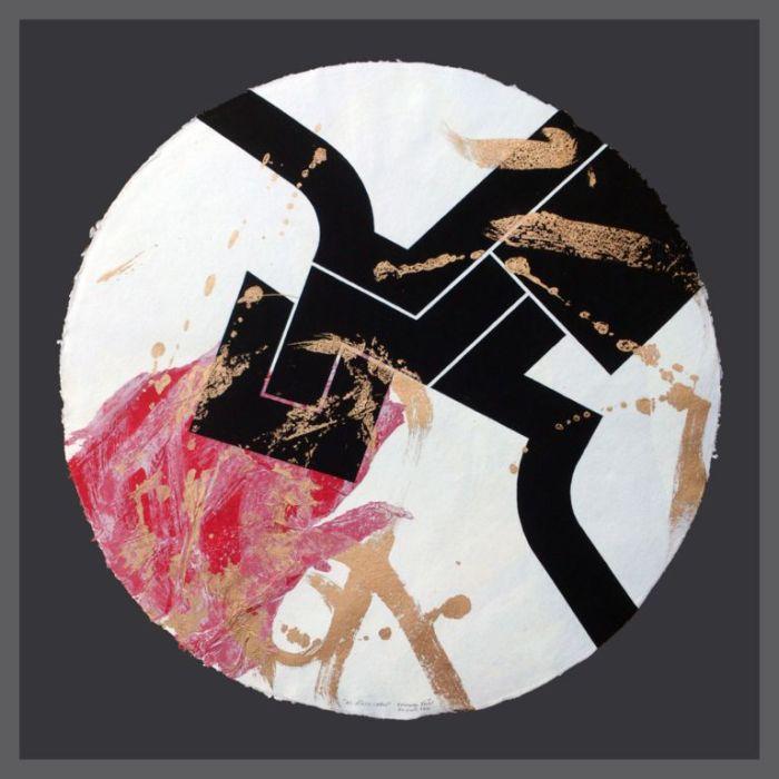EL MIRLO CAGON OK 2016 GOUACHE Y MIXTA S PAPEL 74 X 74