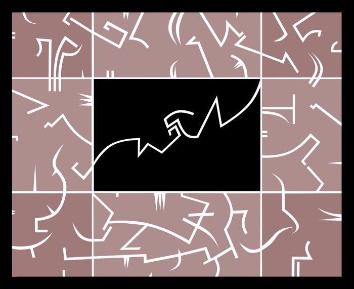 PARADISE 4 2018, acrilico, lienzo, 81 x 65 cms.