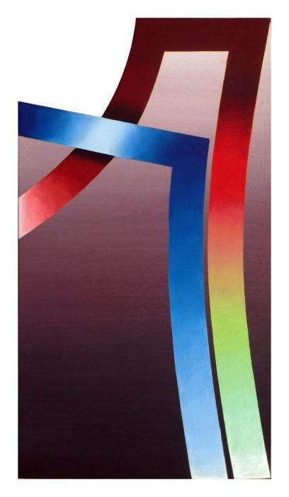SERIE DANTE - PARAISO 2014, acrilico, lienzo, 30 x 50 cms.