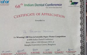 Aesthetics compromised fernando dentist in goa, best service, 30 years of excellent service , best dentist in Goa