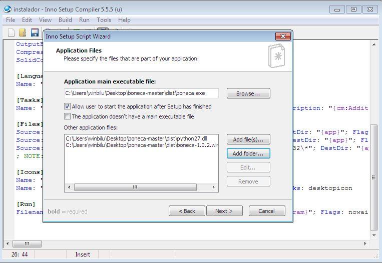How to create an MSI installer using Inno Setup - Fernando Alves