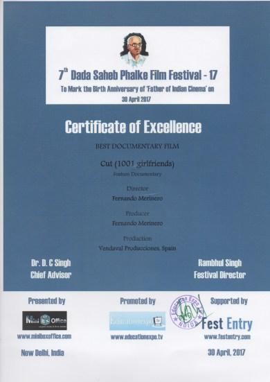 cortar dada saheb certificado