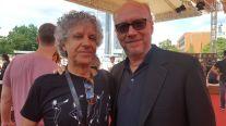 Con Paul Haggis, premio de honor