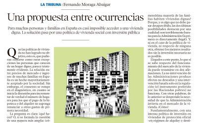 """Fernando Moraga: """"Una propuesta entre ocurrencias"""""""