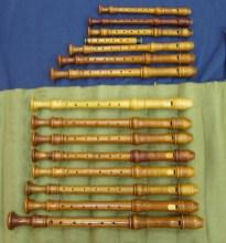 F.Morgan: flautas barrocas