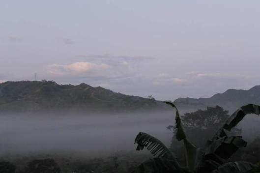 Amanecer en La Laguna, Cundinamarca.