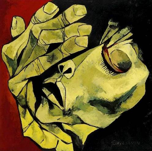 Pintura de Oswaldo Guayasamin.