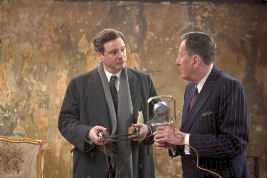 El rey Jorge y el maestro Lionel Logue