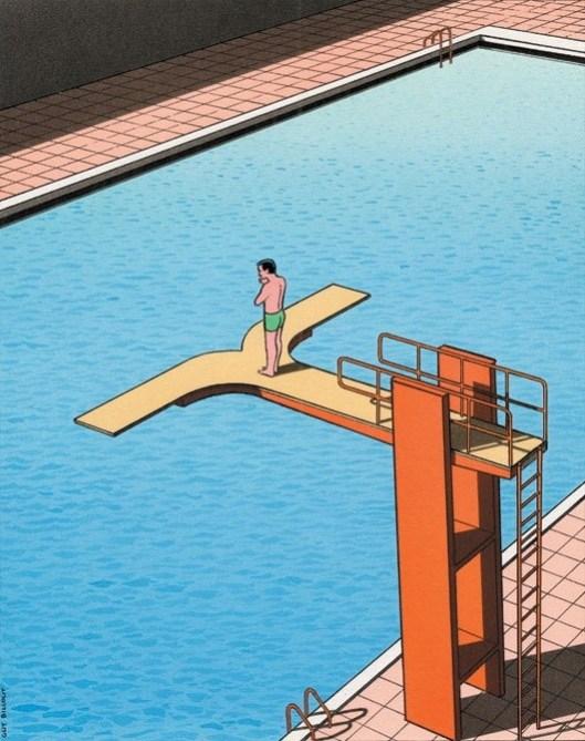 Ilustración Guy Billout