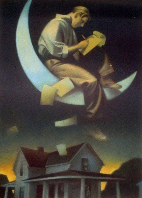 Escribir en la luna Gary Kelley