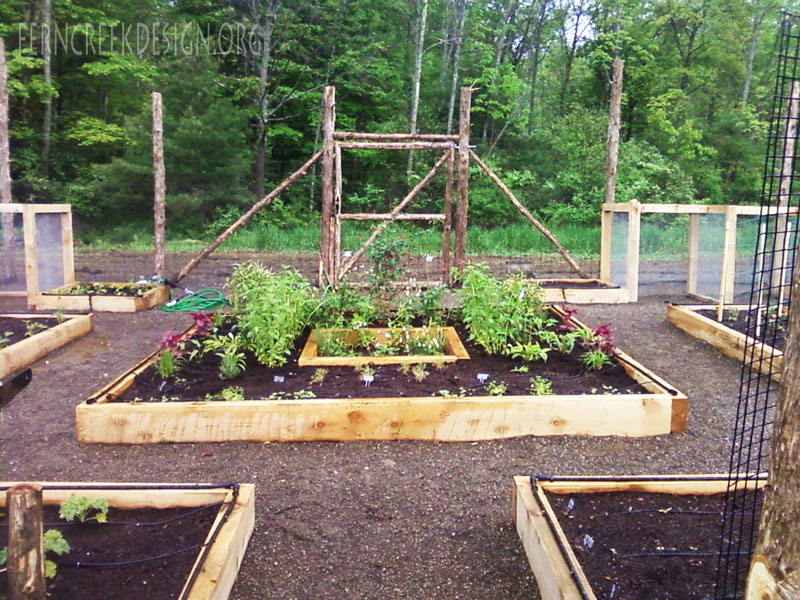 Raised Bed Garden Installation Natural Landscaping Gardening And Landscape Design In The