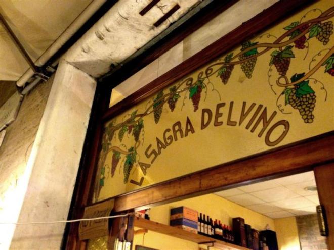 Günstige Restaurants in Rom - La sagra del Vino