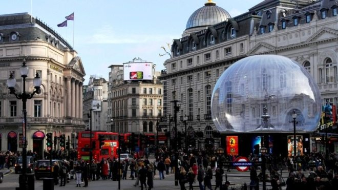 Sightseeing Tipps London: Der Piccadilly Circus in Londons Innenstadt