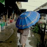 Es kann auch mal regnen