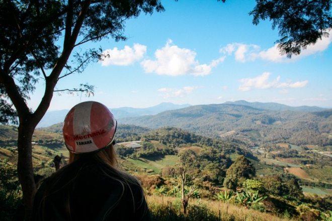 Ban Non Hoi Viewpoint in den Bergen bei Chiang Mai - Tipp