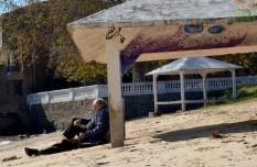 Entspannte Menschen wohin das Auge reicht auf unserem Uruguay Trip