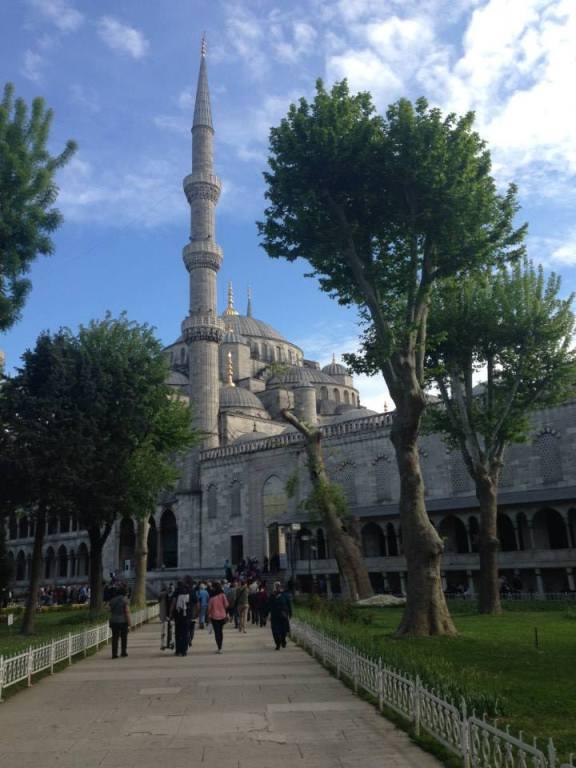 Die vielen Moscheen in Istanbul sind atemberaubend schön